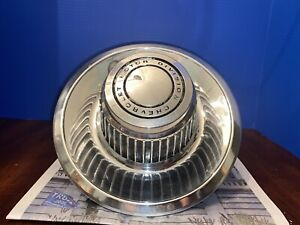 Vintage Chevrolet Motor Division Oem Center Hub Cap Derby Style Rally