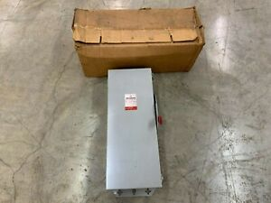 New Westinghouse 100amp 240vac Heavy Duty Safety Disconnect Switch Rhfn223