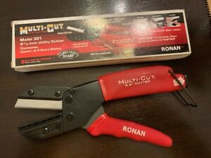 Ronan Multi cut Anvil Cutters Tool 301 Extra Blades On Board Blade Storage Red