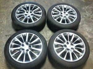 Rims With Tires 19 X 8 1 2 Opt Q8r Fits 13 15 Xts See Pictures Free Shipping