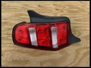 2010 2012 Ford Mustang Driver Left Lh Taillights Tail Brake Light Lamp Halogen