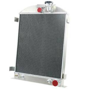 4 Row Radiator For 1928 1931 1930 Ford Model A Grille Shells Chevy V8 Engine