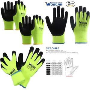 Winter Work Gloves Freezer Winter Working Smart Touch Acryl Fiber Lined With