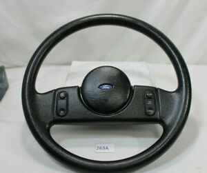 1987 1989 Gorgeous Ford Mustang Lx Gt 5 0 Fox Body Steering Wheel W Controls