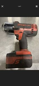 Snap On Ct6850 1 2 Cordless 18v Impact Wrench W 1 Battery And Charger Works Gd
