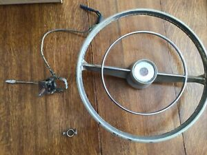 1959 Hillman Steering Wheel Horn Ring Blinker Switch Vintage Steering Wheel