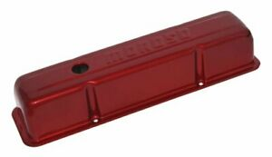 Moroso Engine Valve Cover Set 68006 Red Powdercoat For Chevy 262 400 Sbc