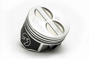 Forged Flattop Pistons Sbc 350 4 030 Coated Skirts L2256f 30