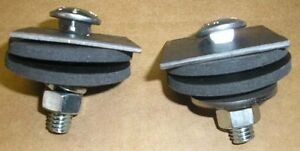 New 1959 Chevy Impala Belair Or Biscayne Radiator Support Mounting Kit