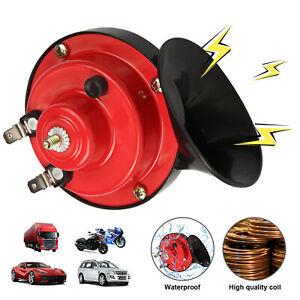 300db Super Loud Train Horn For Truck Car Suv Boat Motorcycle 12v Electric Horn