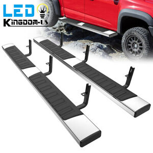 For 15 21 Chevy Colorado canyon Crew Cab 6 Running Board Nerf Bar Side Step S s