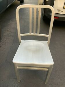 Facility Concepts Chair Aluminum Navy Style