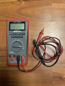 Snap on Digital Volt Multimeter 10a Amp Cat Iii 600v Ac dc Max Eeddm503d Mh