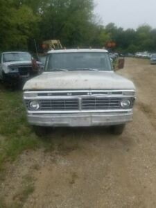 Driver Left Front Door Fits 73 79 Ford F100 Pickup 309695