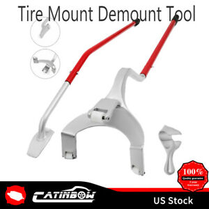 Tire Changer Tire Mount Demount Tools Tool Tubeless Truck 17 5 To 24 Manual Us
