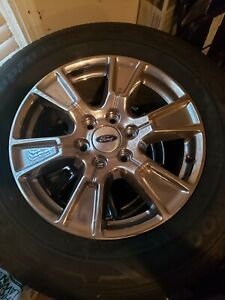 18 Ford F 150 Expedition Oem Chrome Rims Wheels Tires 3998 2016 2017 2018 2019