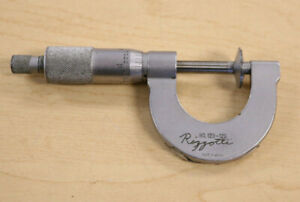 Mitutoyo No 123 125 Disc Flange Micrometer Pre owned Free Shipping