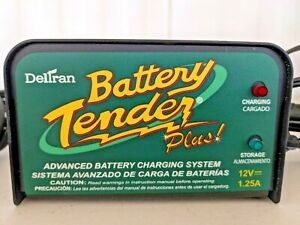 Deltran Battery Tender Plus 12v 1 25 Amp 021 0128 Used