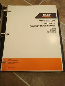 Case 450 450ct Series 3 Skid Steer Compact Track Loader Parts Catalog Manual