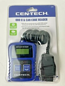 Cen Tech Obd Ii Can Code Reader Item 64981