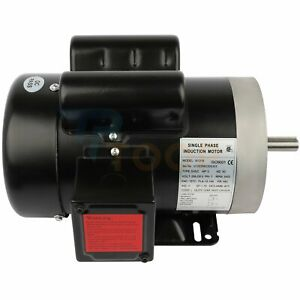 General Electric Motor Single Phase 3 Hp 2 Pole 3450 Rpm 56c Frame Tefc 60 Hz