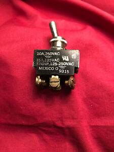 Oem Carling 3 position Toggle Switch 9315 10a 250vac 15a 125vac 3 4hp