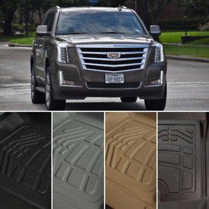Surefit Floor Mats Front Second Row Cargo For 2015 2020 Cadillac Escalade Esv