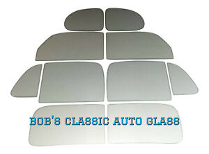 1940 Ford Tudor 2 Door Sedan Classic Auto Glass Vintage New Windows Antique Flat