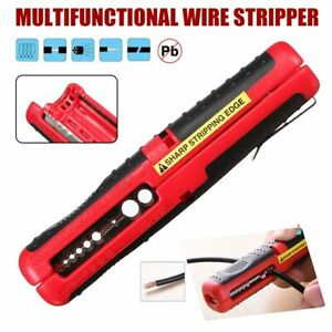 Electrical Wire Stripper cutter Crimper Hand Pliers Tool Machine Outdoor