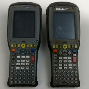 Lot Of 2 Psion Teklogix 7535 Scanners Untested Parts