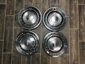 1961 Oldsmobile 88 98 Hubcaps Wheel Covers Set Of 4 15in