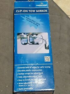 Universal Truck Towing Mirror Add on Extension Attachment Ford Gmc Durable Nos