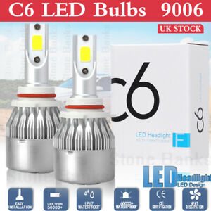 9006 Hb4 Led Headlight Bulbs Conversion Kit Lamp 6000k White 1900w 285000lm