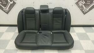 2015 2020 Charger Srt Hellcat Oem Rear Seats Top Bottom Black Leather Heated