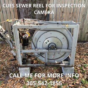 Cues Sewer Reel For Inspection Camera