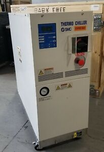Thermo Chiller Smc Hrz010 ws Water Cooled Tested And Certified With Warranty