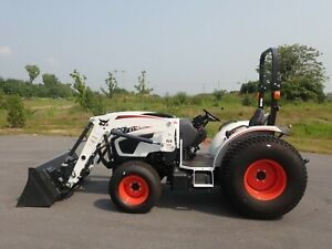 New Bobcat Ct4050 Compact Tractor W Loader Hydro 4x4 540 Pto 50 3 Hp Diesel