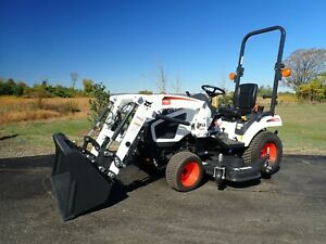 New 2020 Bobcat Ct1021 Compact Tractor W Loader Belly Mower 21hp 4x4 Hydro