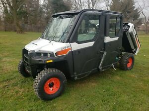 New Bobcat Uv34xl Utv Cab Heat 4x4 Dump Bed 23 5 Hp Diesel up To 35mph