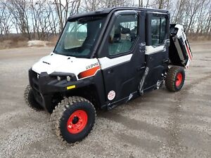 New Bobcat Uv34xl Utv Cab Heat Dump Bed 4x4 39 9 Hp Gas Engine seats 5