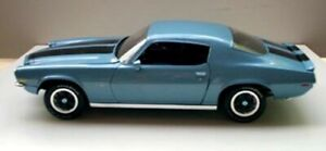 1 18 1970 Chevy Camaro Rs z28 Astro Blue Super Toy Cars