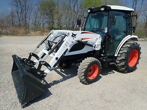 New Bobcat Ct5550 Compact Tractor W Loader Cab Heat ac 4x4 Hydro 50hp