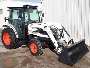 New Bobcat Ct5545 Compact Tractor Loader Cab Heat ac Hydro 4x4 45 Hp