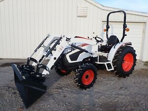 New Bobcat Ct4055 Compact Tractor 4x4 Manual synchro Trans 540 Pto 50 3hp