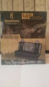 New Browning Mossy Oak Break Up Truck Switch Back Full Size Bench Seat Cover