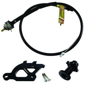 96 04 Mustang Clutch Quadrant Cable Firewall Adjuster Black Free Shipping