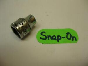 Snap On Tools Usa 3 8 Drive 6pt Chrome 8mm Metric Socket Fsm81 Nice