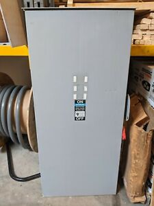 Siemens 400amp Fused Safety Disconnect Switch 240v 1p Nema 3 Outdoor Rated