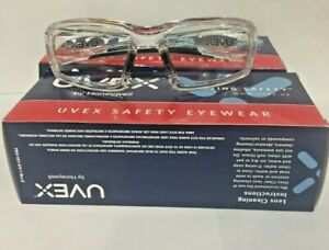 2 Pair Honeywell Uvex S2970 Safety Glasses Clear