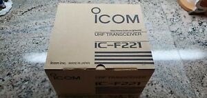 Icom Ic f221 128ch With Display Uhf 440 490 Mhz 45w Mobile Radio New In Box